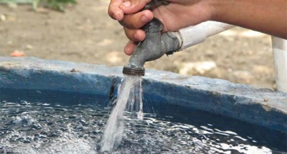 suministro agua