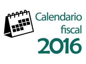 Calendario fiscal julio 2016