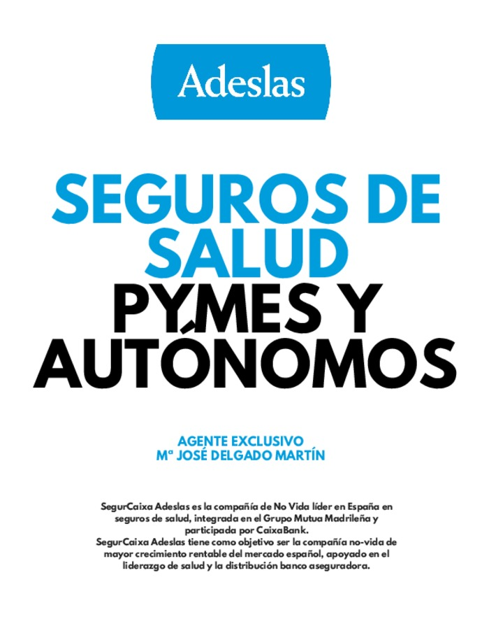Adeslas Seguro Salud Telefono